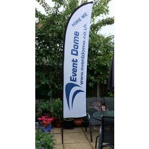 Medium Feather Flag Image