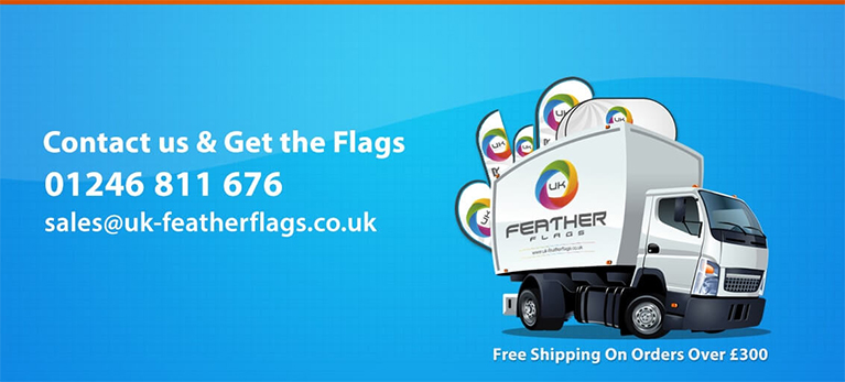 Cheap Feather Flags UK and Feather Banner Stands
