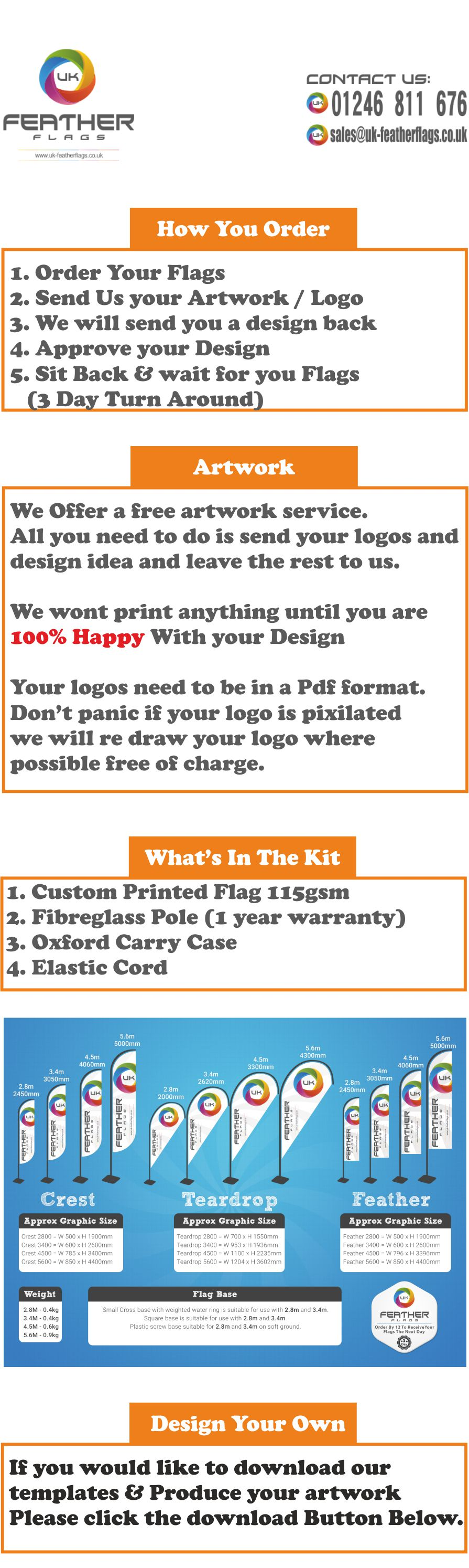 How To Order Your Feather Flags