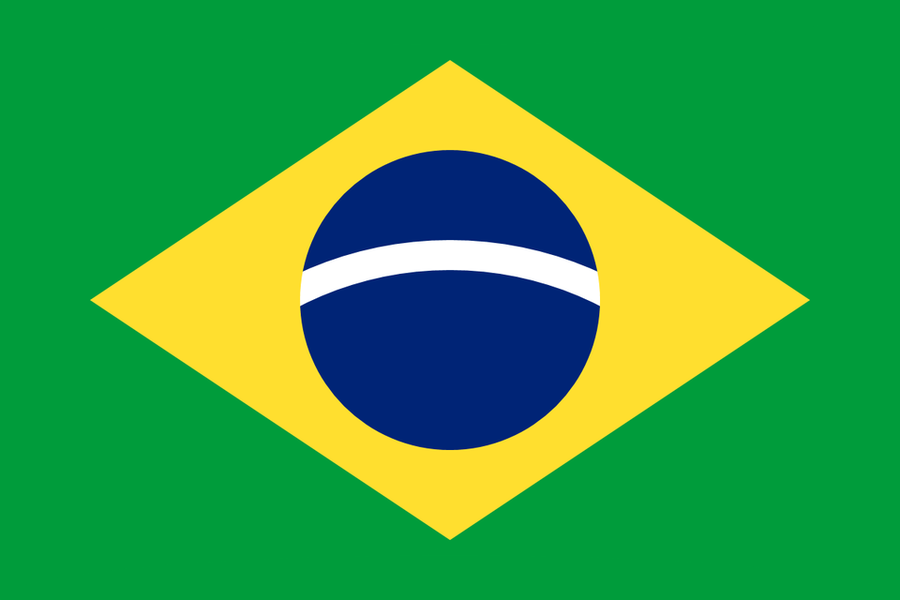 Simplified Brazil Flag Redesign