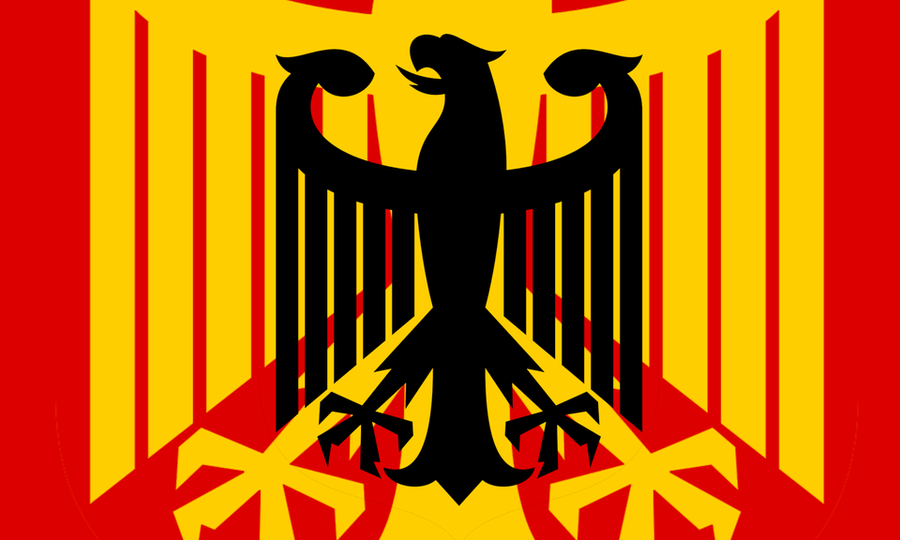 Germany Flag Redesign based on the Bundesadler