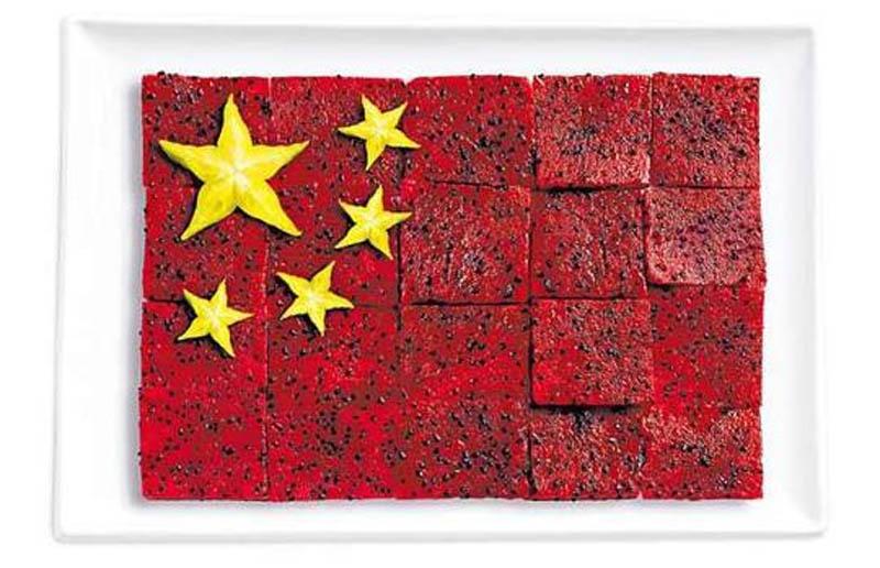China Food Flag