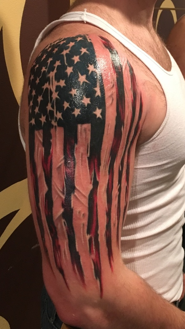 USA Flag Tattoo - pic 0