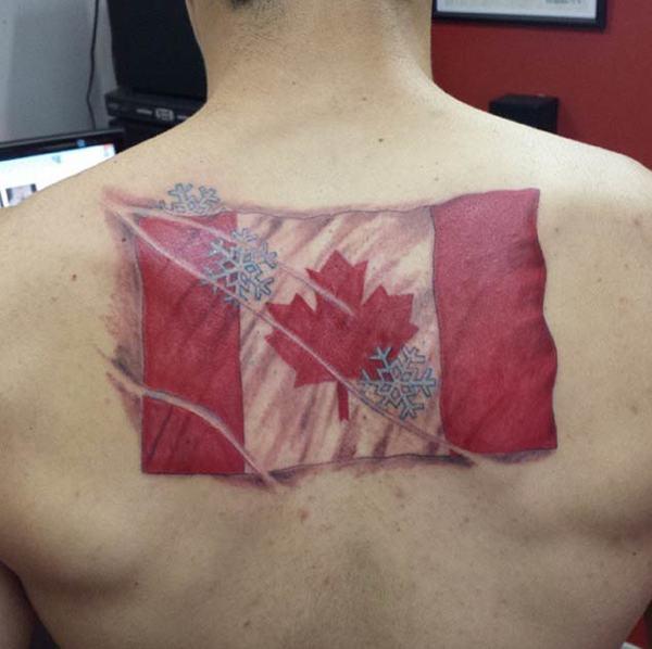 Canada Flag Tattoo - pic 2