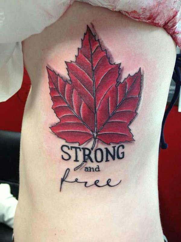 Canada Flag Tattoo - pic 3