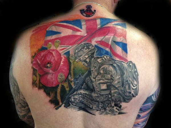 UK Flag Tattoo - pic 3
