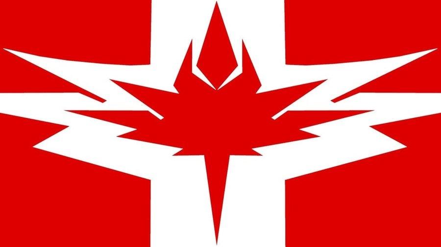 Futuristic Canada Flag Redesign