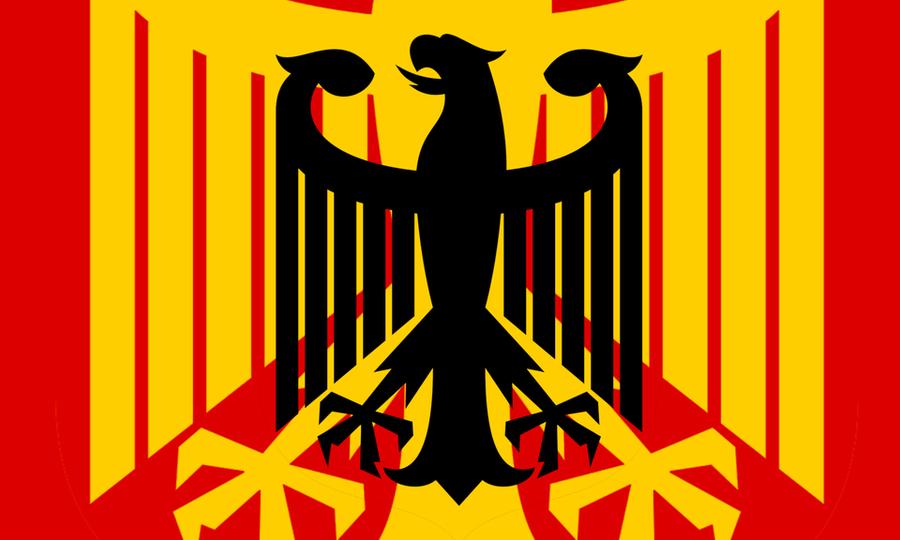 Germany Flag Redesign based on the Bundesadler