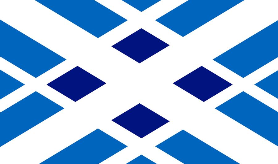 Tartan Scotland Flag Redesign